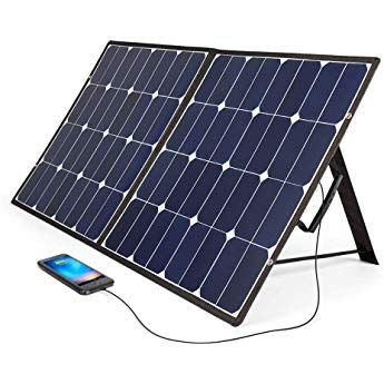 bougeRV 100 w solar panel charger