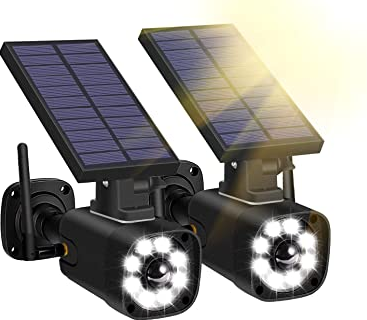 Techage Dummy Security Cameras and Solar Lights