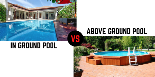 above ground pool vs in ground pool