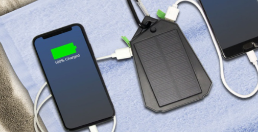 solar usb power charger multiple devices