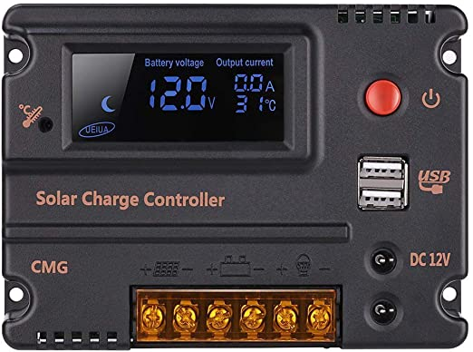GHB 20A solar charge controller