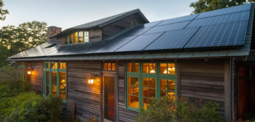 mission solar panels for home