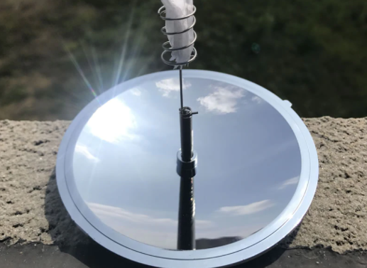 Parabolic Mirror to start a fire