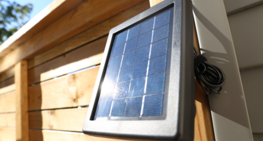 ring solar panel for RING security camera