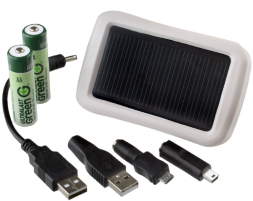 solar aa usb battery chargers