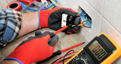 safety working with electricity